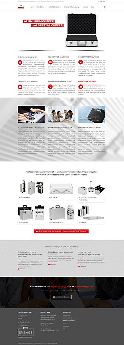 Website - Embags