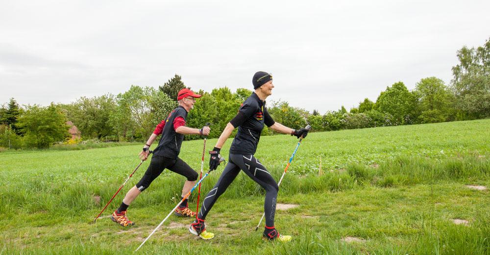 Before-Nordic Walking