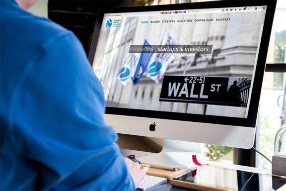 Internetseite für Business Angels
