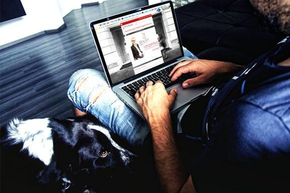 Internetseite für Brita Becker Farb- und Stilberatung