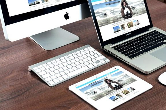 Internetseite für Coolchain Logistics