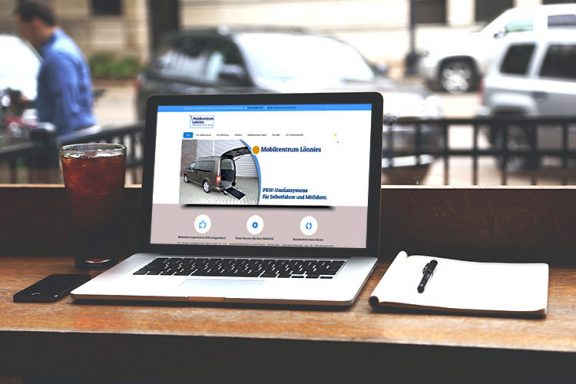 Internetseite für Mobilcentrum Lönnies