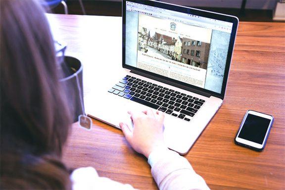 Internetseite für Café Zeitgeist Lüneburg