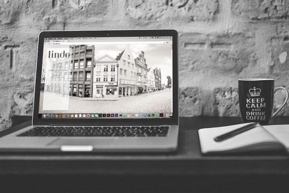 Internetseite für Lindo Modegeschäft Lüneburg