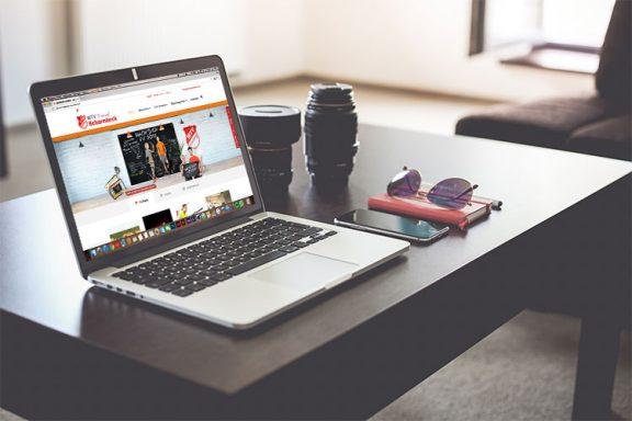 Internetseite für MTV Scharmbeck