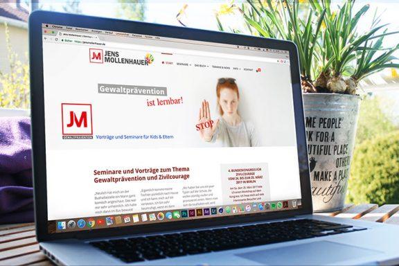 Internetseite Jens Mollenhauer Gewaltprävention