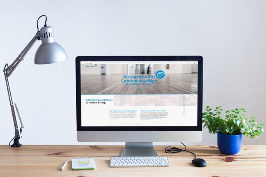 Internetseite für Onlineagentur Marketing Agentur