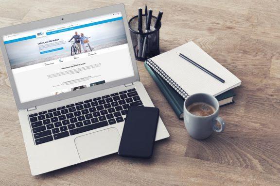 Internetseite für BMZ Finanz