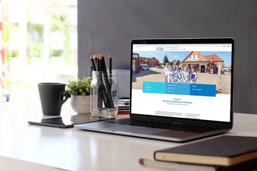 Internetseite für Arztpraxis