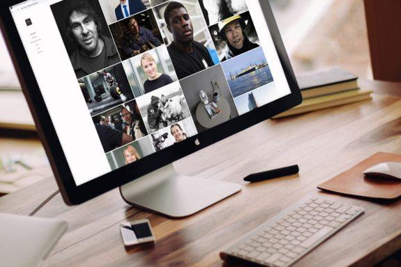 Internetseite für Business Fotografen