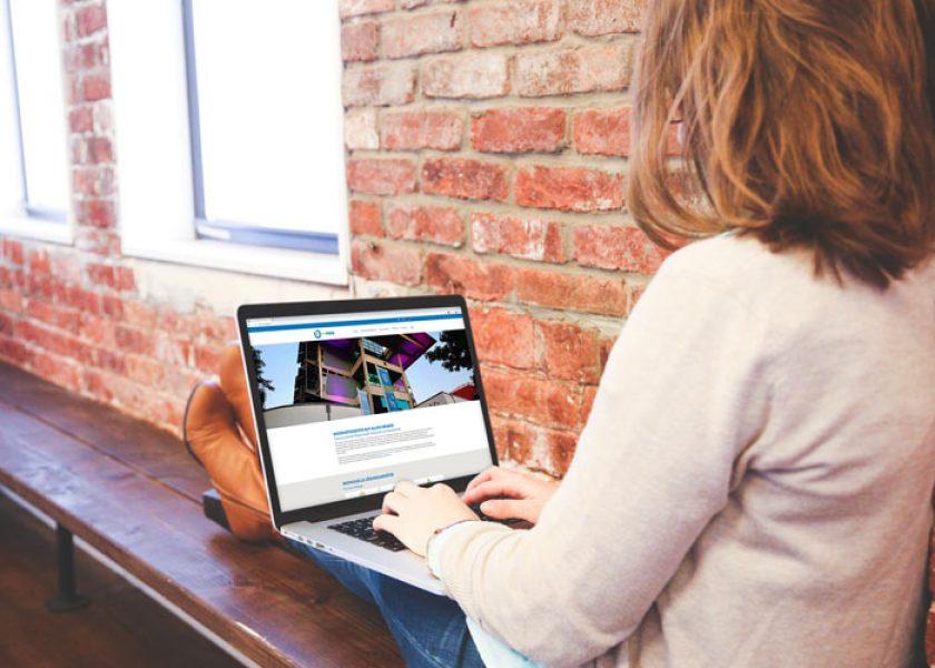 Internetseite für Technologie- und Wissenstransfer