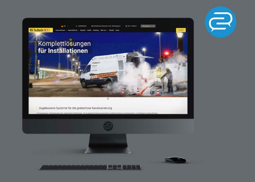 Website Relaunch der RS Technik AG – Schweiz