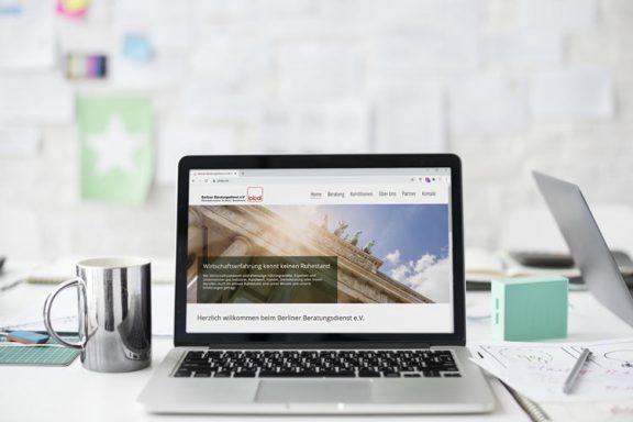 Internetseite für den Berliner Beratungsdienst e.V. | Wirtschaftssenioren
