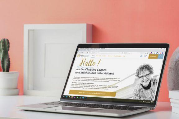 Internetseite / Onlineshop für sprituelle Psychologin
